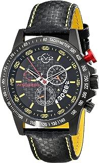 by Gevril Men's 9901 Scuderia Analog Display Swiss Quartz Black Watch