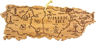 Totally Bamboo Puerto Rico Destination Bamboo Serving and Cutting Board