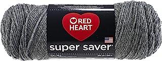 Red Heart Super Saver Yarn-Grey Heather