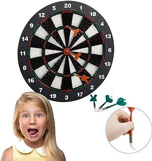 KOLIU Sport al Chiuso 29,5 cm-40,5 cm Diametro Bersaglio Doppio Bersaglio Magnetico Freccette Bersaglio per Freccette Intrattenimento Dardo