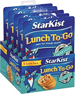 StarKist Lunch To-Go Chunk Light Mix Your Own Tuna Salad - (Pack of 5)