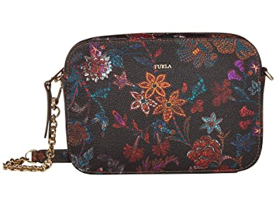 Furla Brava Mini Crossbody (Toni Nero) Handbags