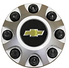 GM 9597819 Chevy Silverado Center Hub Cap Silver 8 Lug Wheel