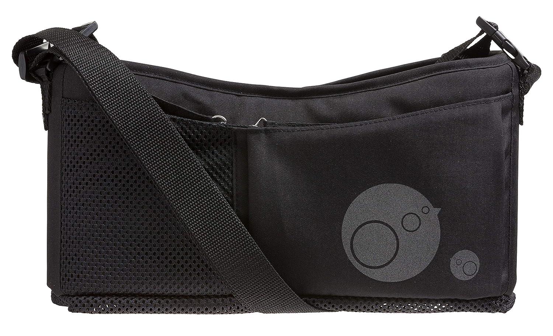 b.box Stroller Organizer I Color: Black I Attaches to Stroller Handle I Turns Into Handy Shoulder Bag I Easy Clean Surface