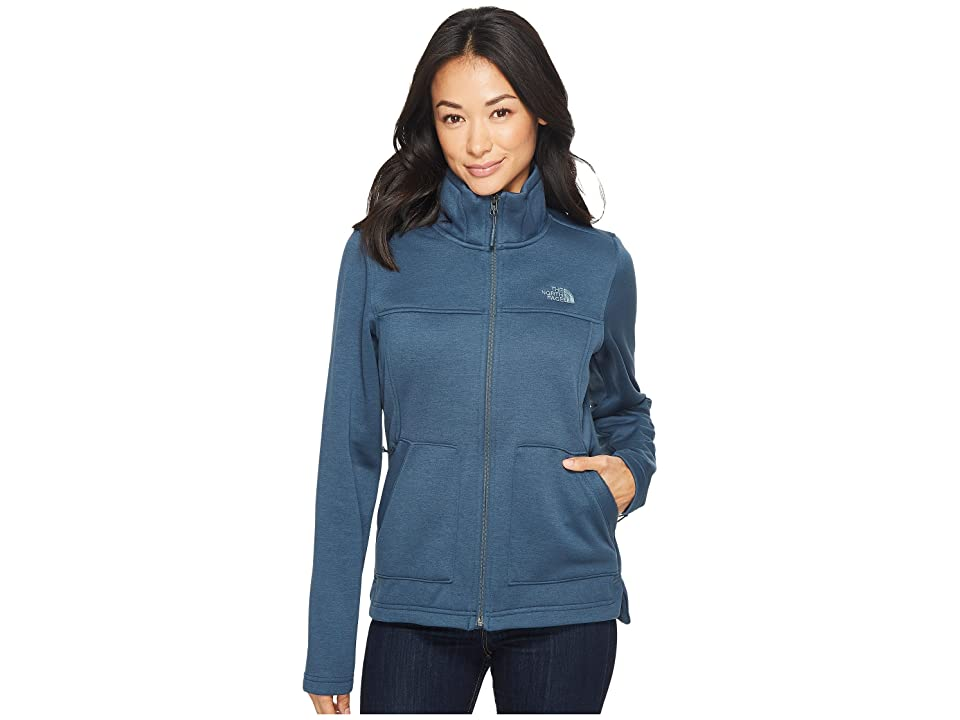 The North Face Wakerly Full Zip (Ink Blue) Women
