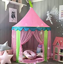 Tiny Land Girl's Pink Princess Play Tent Indoor Outdoor Party