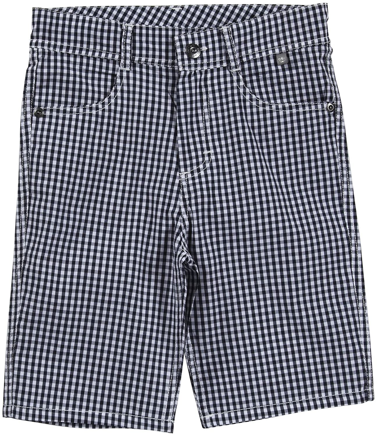 Petit Lem Little Boys ' Mr。ヒップスターPlaid Shorts (幼児/子供