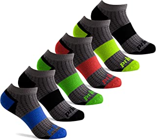 Boys' Low Cut Athletic Socks with Cushion for Active Kids