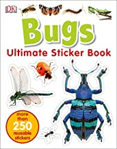 Ultimate Sticker Book: Bugs: More Than 250 Reusable Stickers