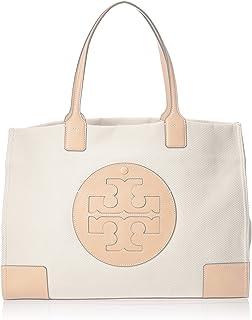 Tory Burch Ella Canvas Womens Mini Tote Bag, Natural