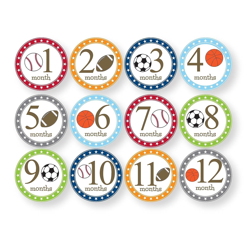 Princess Child to Cherish Baby Monthly Milestone Stickers