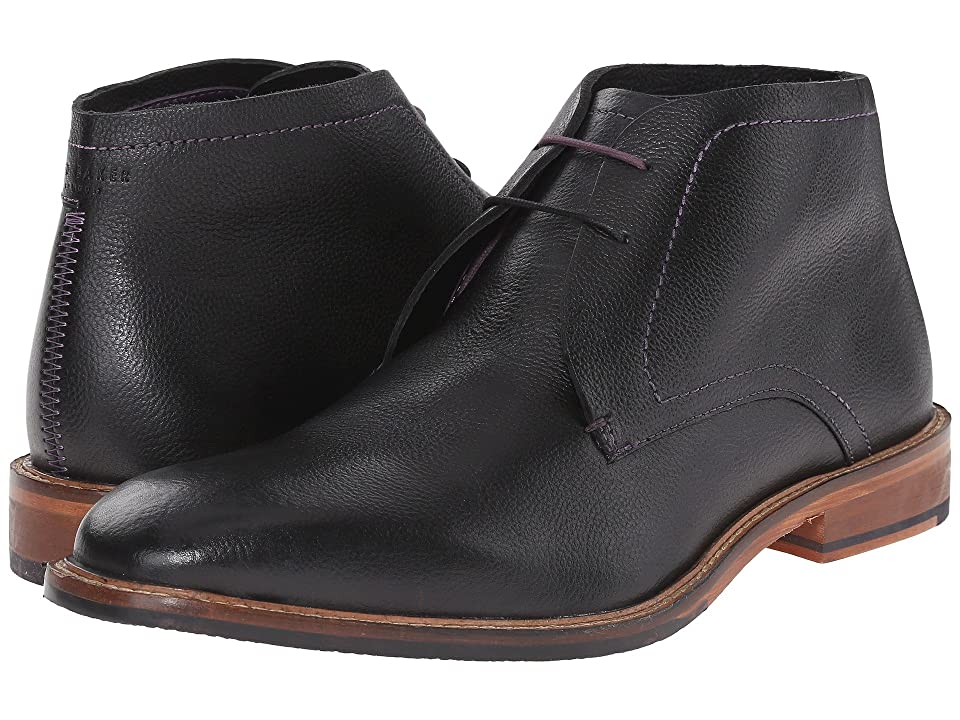 Ted Baker Torsdi 4 (Black Leather) Men