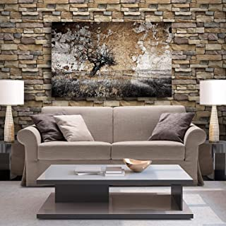 Indian Royals PVC Abstract Wall Furniture Sticker, 1.96 x 1.96 x 17.71 Inches, Black