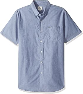 Rip Curl Mens Ourtime S/s Shirt, Insignia Blue XL