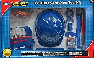 Lowe's Build & Grow 20 Pc Carpenter Tool Kit