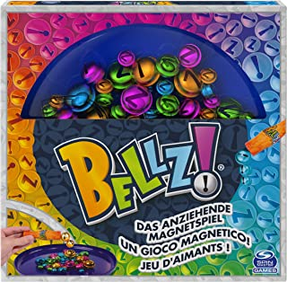 Spin Master Games Bellz, Family Game with Magnetic Wand and Colourful Bells, for Kids aged 6 and Up