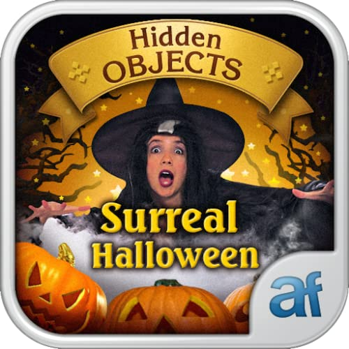 Hidden Objects Surreal Halloween & 3 puzzle games