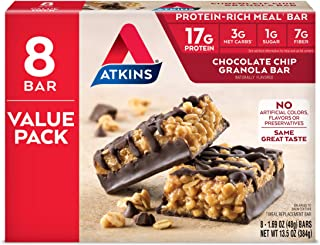 Best chocolate chip granola bar nutrition label Reviews