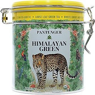 Pantenger Green Tea Loose Leaf - Himalayan Green Tea. 3.5 Ounce (50 servings) High Levels of Antioxidants and Amino Acids....