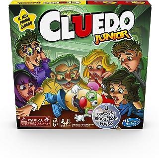 Cluedo Junior, The Broken Toy Case (Box Game, Hasbro Gaming, Spanish Version)
