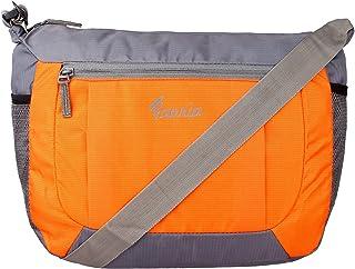 Favria Polyester Water Resistant Sling Bag For Men Cross Body Travel Office Business Messenger one Side Shoulder Bag for M...