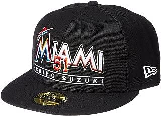 (ニューエラ)NEW ERA ベースボールキャップ 59FIFTY MLB Japanese Player マイアミ・マーリンズ (イチロー) 11497899 [ユニセックス]