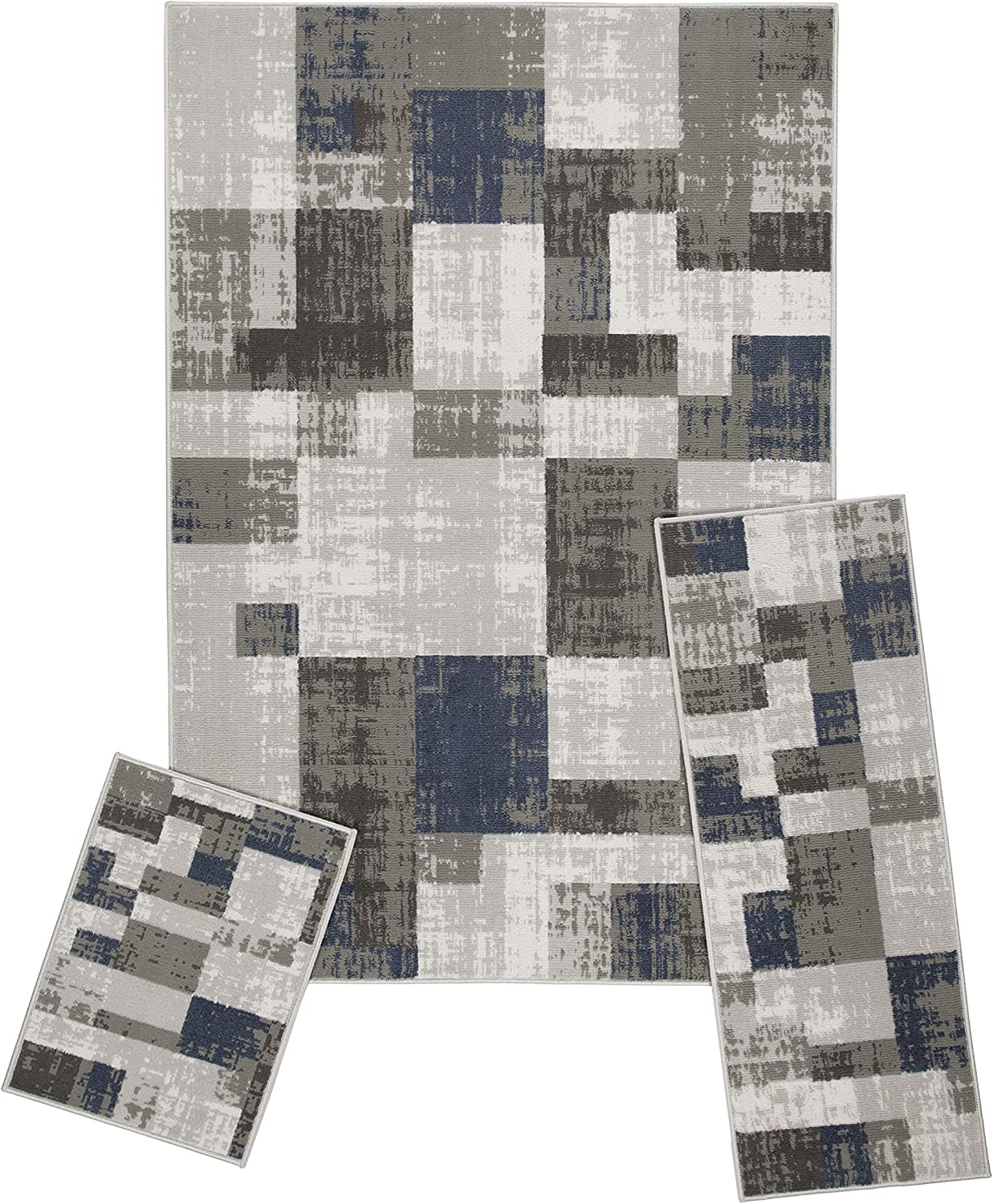 Achim Home Today's only Furnishings Capri 3 Piece Set Rug Soliel Cash special price