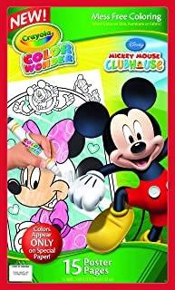 Crayola Color Wonder Poster Pages, Mickey Mouse