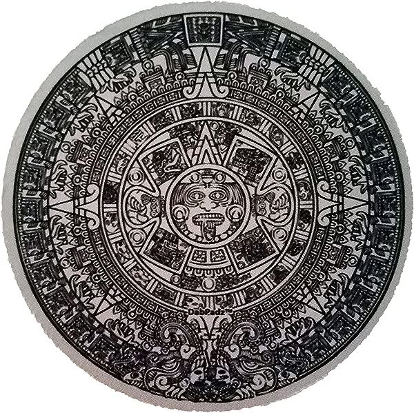 5 玛雅日历圆形 Dab 垫钻机垫