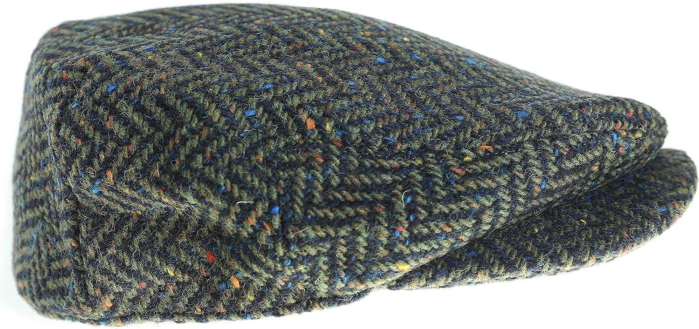 Wool Driving Cap Extended Brim