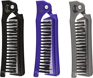 Goody Style On The Go Folding Brush & Comb, Colors May Vary 1 ea (Pack of 3)