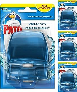 Pato - Gel Activo recambio colgador para inodoro Marine,