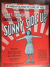 IF I HAD A TALKING PICTURE OF YOU (1929 SHEET MUSIC BG DeSYLVA) Excellent condition from SUNNY SIDE UP with Janet Gaynor (pictured)
