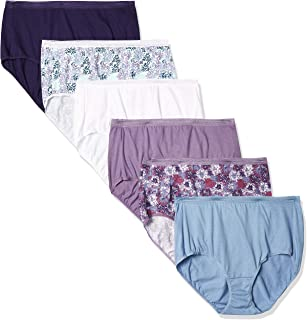 Hanes womens Signature Breathe Cotton Brief 6-Pack Briefs (pack of 6)