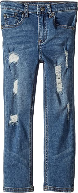 Appaman Kids - Extra Soft Rip and Repair Reed Knit Denim (Toddler/Little Kids/Big Kids)