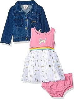 Girls' Baby 3 Pieces Dress Set