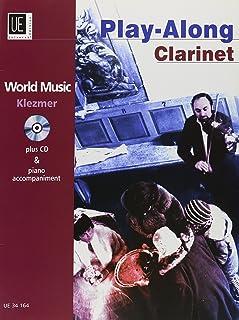 Klezmer - Play Along Clarinet: World Music. für Klarinette mit CD oder Klavierbegleitung. Ausgabe mit CD.