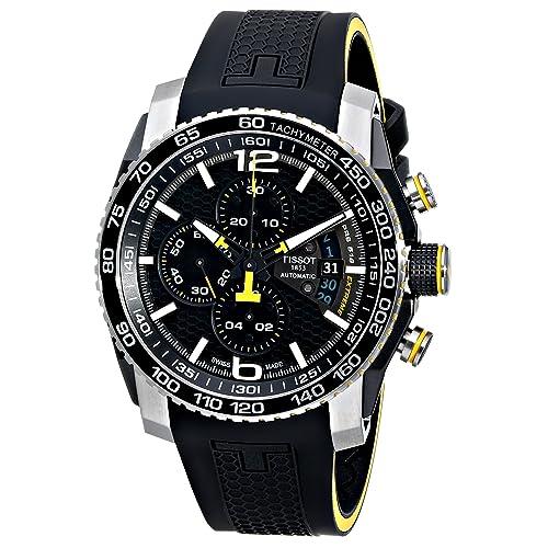 Tissot Mens T0794272705701 PRS 516 Analog Display Swiss Automatic Black Watch
