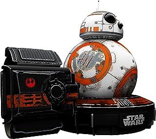 Sphero星球大战R001SRW - 电子机器人Droid BB-8 配有Force Band?#33267;?                          srcset=