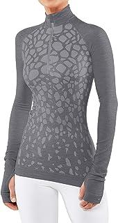 FALKE Damen Wool-tech Trend Longsleeve Damen Longsleeve