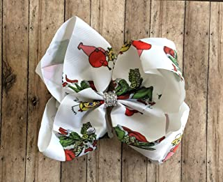 Grinch Hair Bow by Inspired Bows