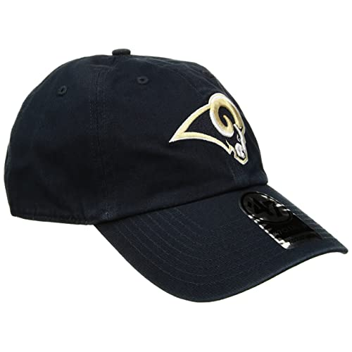 wholesale dealer 9dedf 2947a NFL St. Louis Rams Clean Up Adjustable Hat, Navy, One Size Fits All