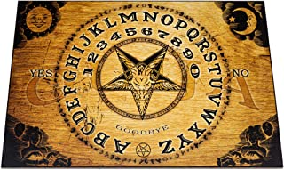 Wooden Ouija Board Game with Planchette and Detailed Instruction