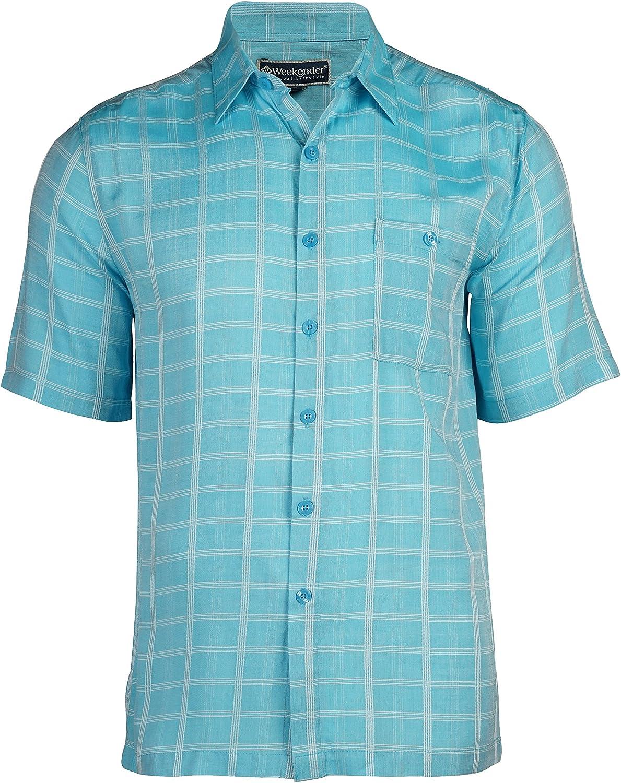 Weekender Men's Maro Reef Hawaiian Island Tropical Shirt