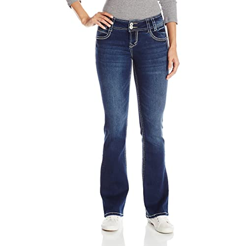 d16e15af547 WallFlower Juniors Insta Stretch Luscious Curvy Bootcut Jeans