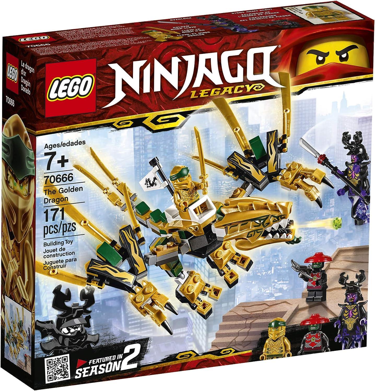 Ninjago toys golden dragon ancient golden dragon egg shell turn in