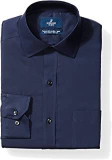 Amazon Brand - BUTTONED DOWN Men's Tailored Fit Stretch...