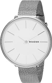 Skagen Women 's' Karolina 'acero inoxidable de cuarzo reloj Casual, color: plateado (modelo: skw2687)