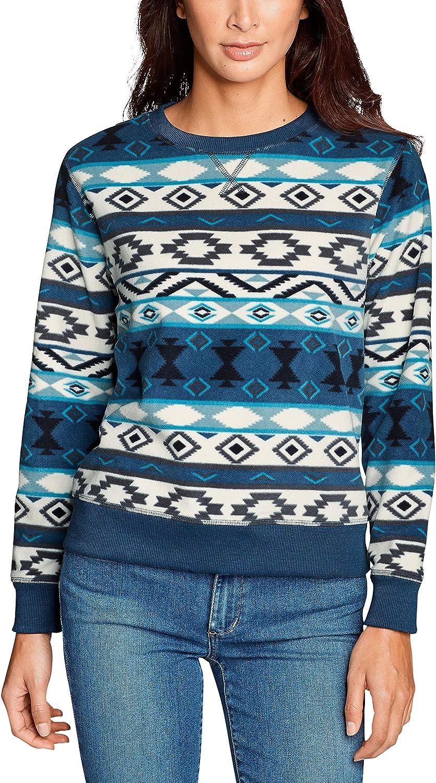 Eddie Bauer Damen Quest Fleece - Sweatshirt - Bedruckt