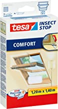 tesa Insect Stop Comfort Vliegenhor voor Dakramen - Insectenhor, raamhor - Met klittenband - Voor schuine ramen - Snij op ...